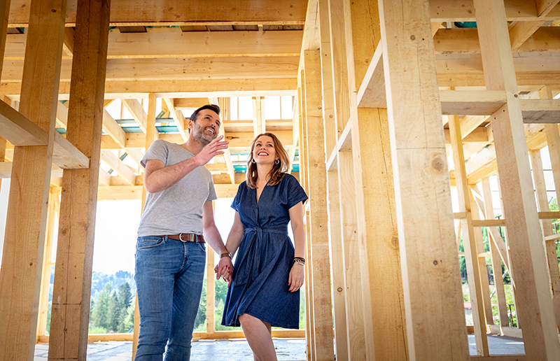 A Seller's Market, House Hunters, and the Undeniable Appeal of New Construction